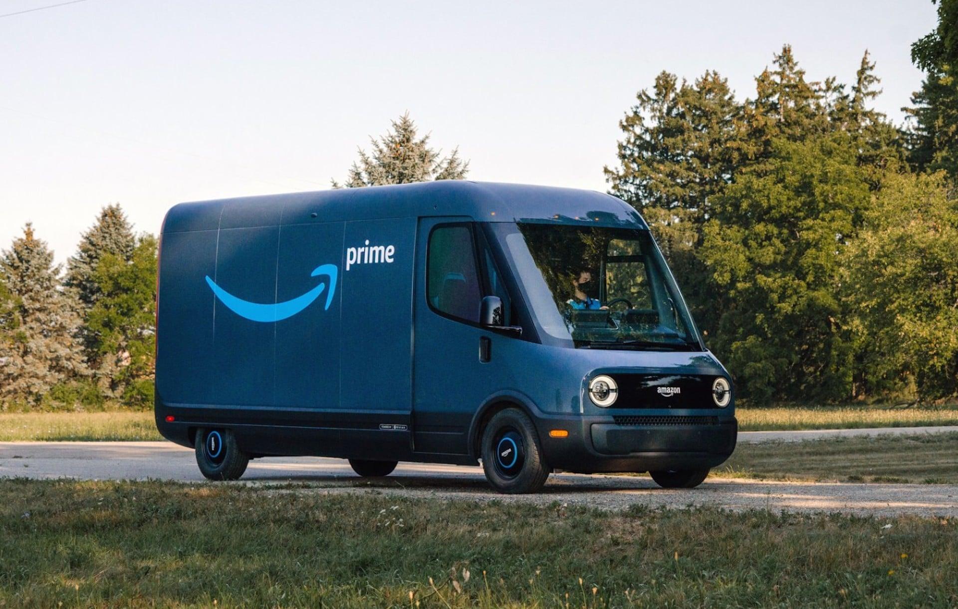 Amazon-Rivian-Elektrotransporter