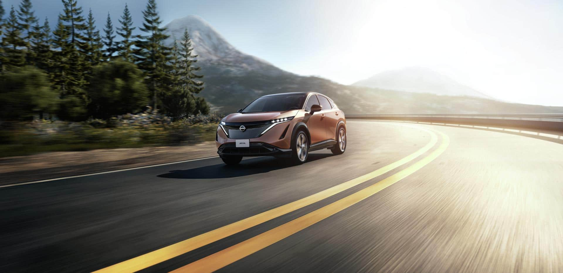 Nissan Ariya geht auf virtuelle Probefahrt