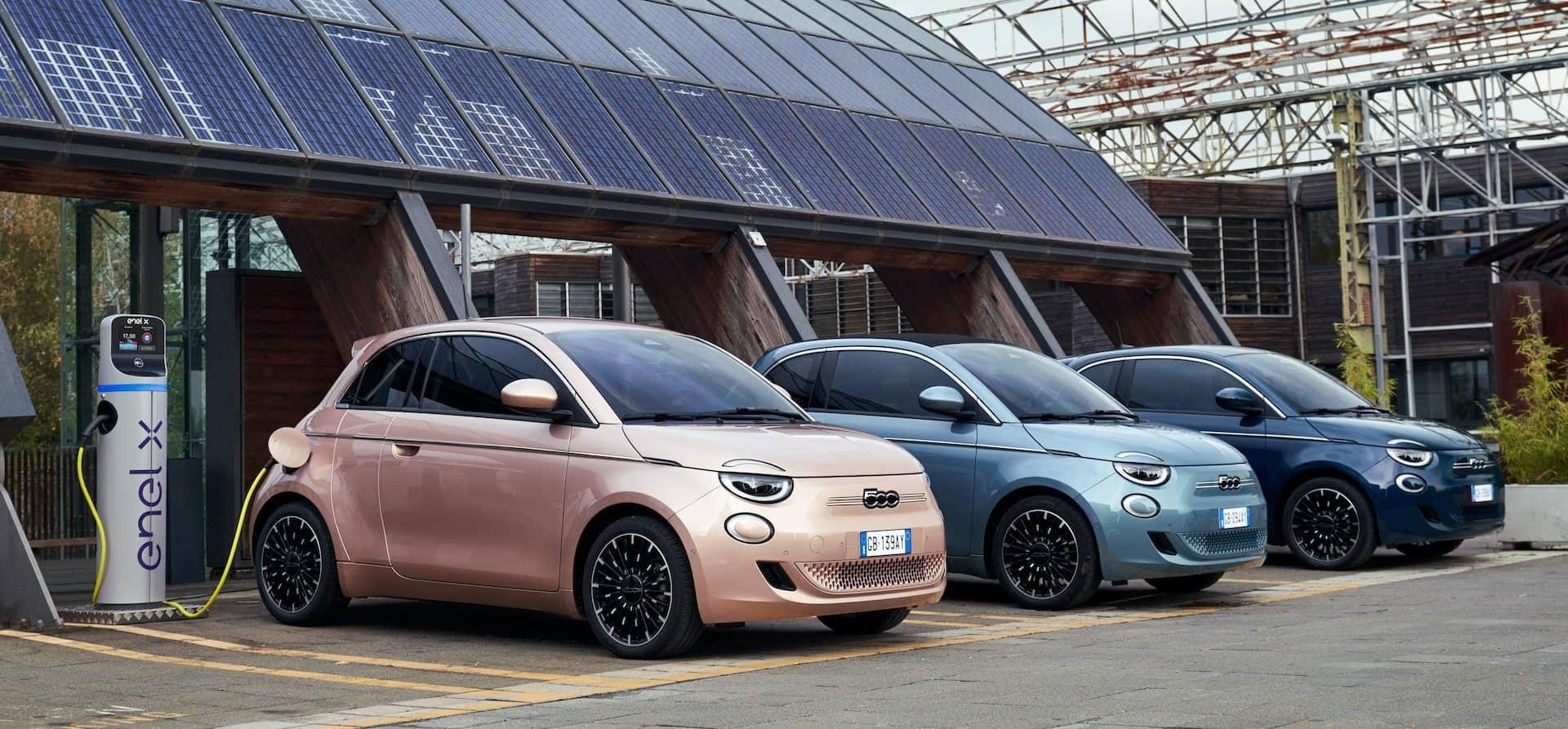 Fiat-500-Elektroauto-Varianten
