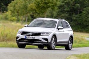 VW Tiguan: Als Doppelherz. Ohne Allrad, aber mit 50 elektrischen Kilometern