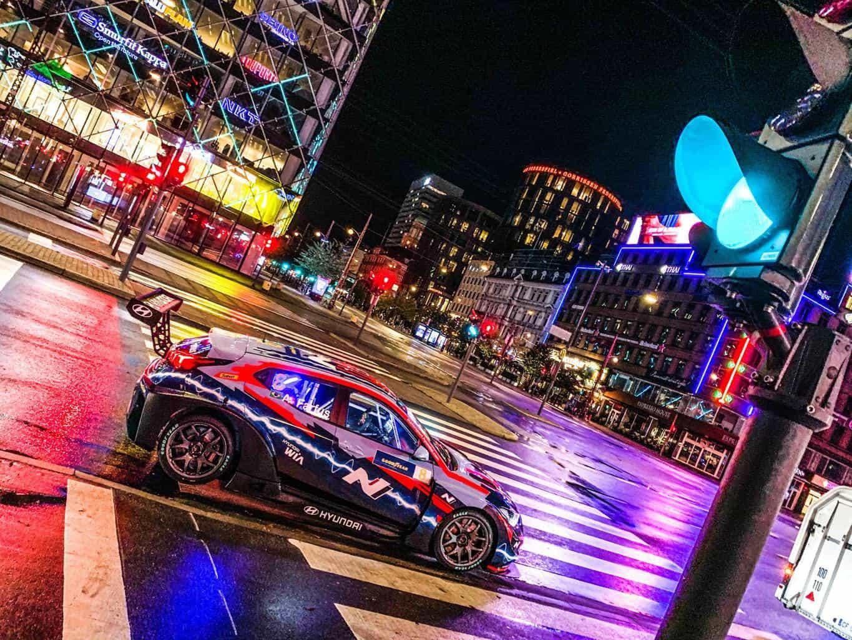Hyundai startet mit Veloster N ETCR in der neuen E-Rennserie PURE ETCR