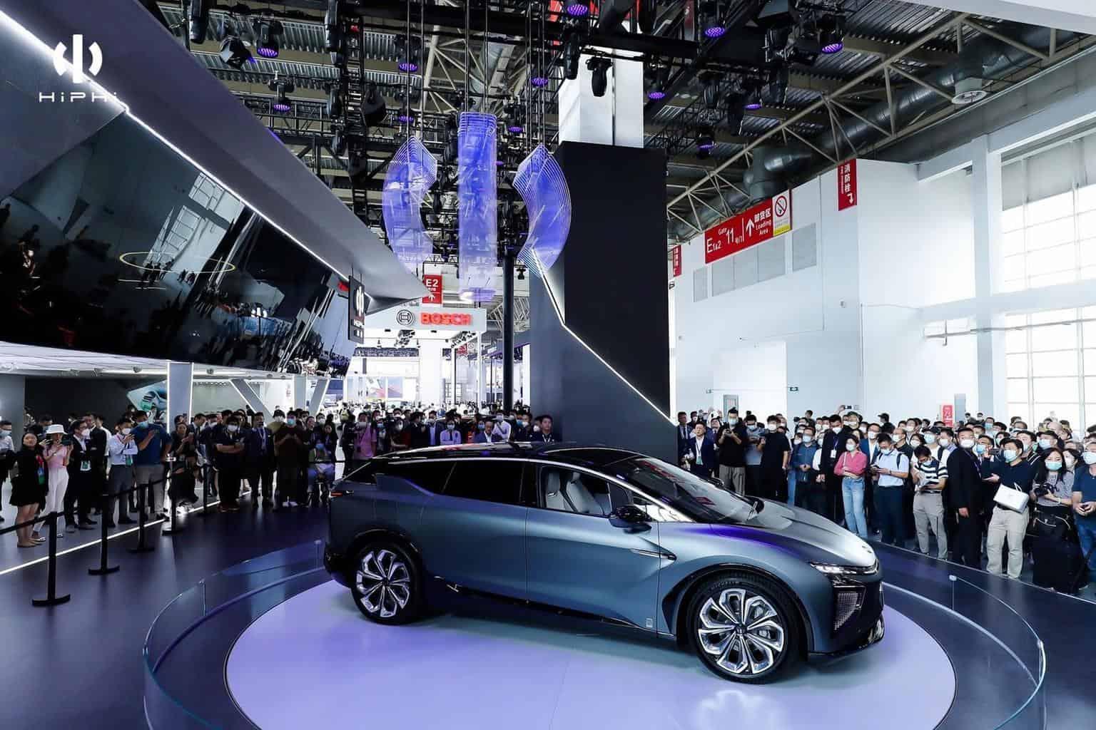 Human Horizons stellt Super-SUV HiPhi X vor
