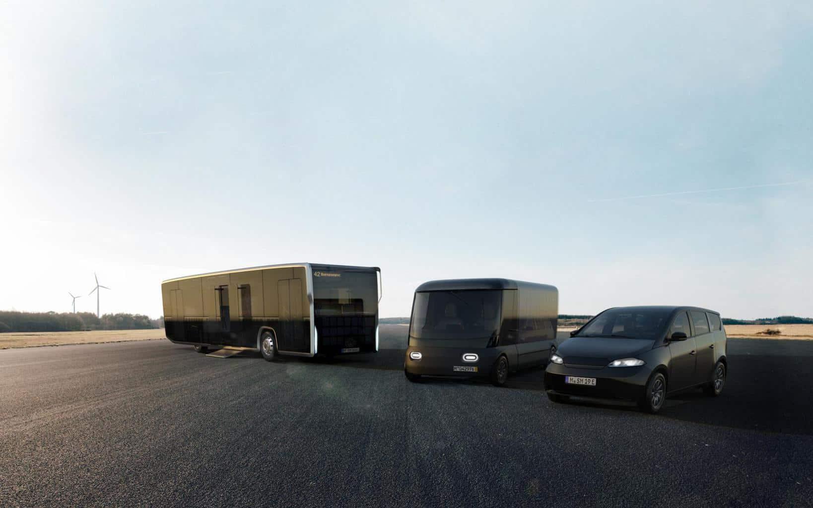 Sono Motors strebt Zulassung Solar Integration in Fahrzeug-Karosserie an