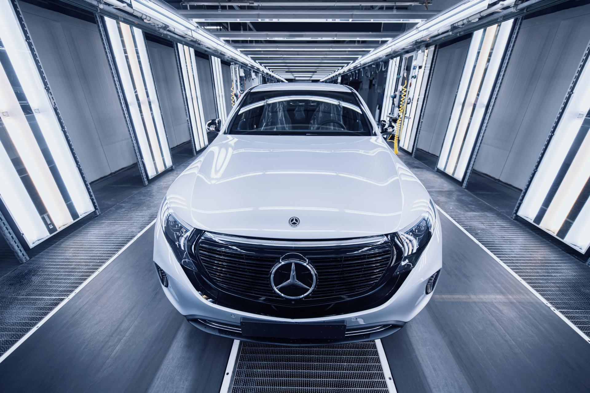 Mercedes-Benz: Noch vor EQS-Premiere bekommt der EQC ein Upgrade!