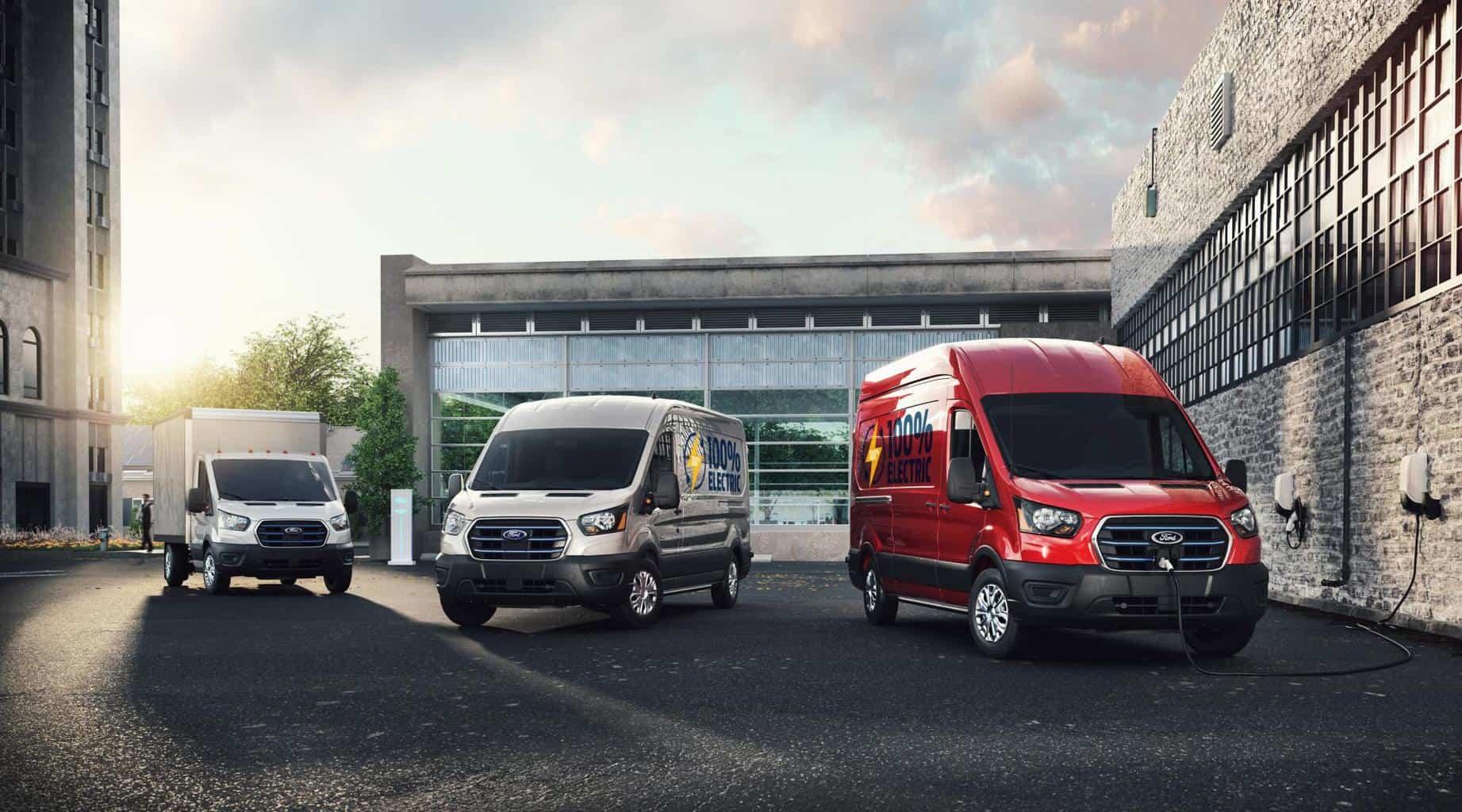 "Ford E-Transit: Transporter der ""Mustang Mach-E zu Gewinn verhilft"" vorgestellt"