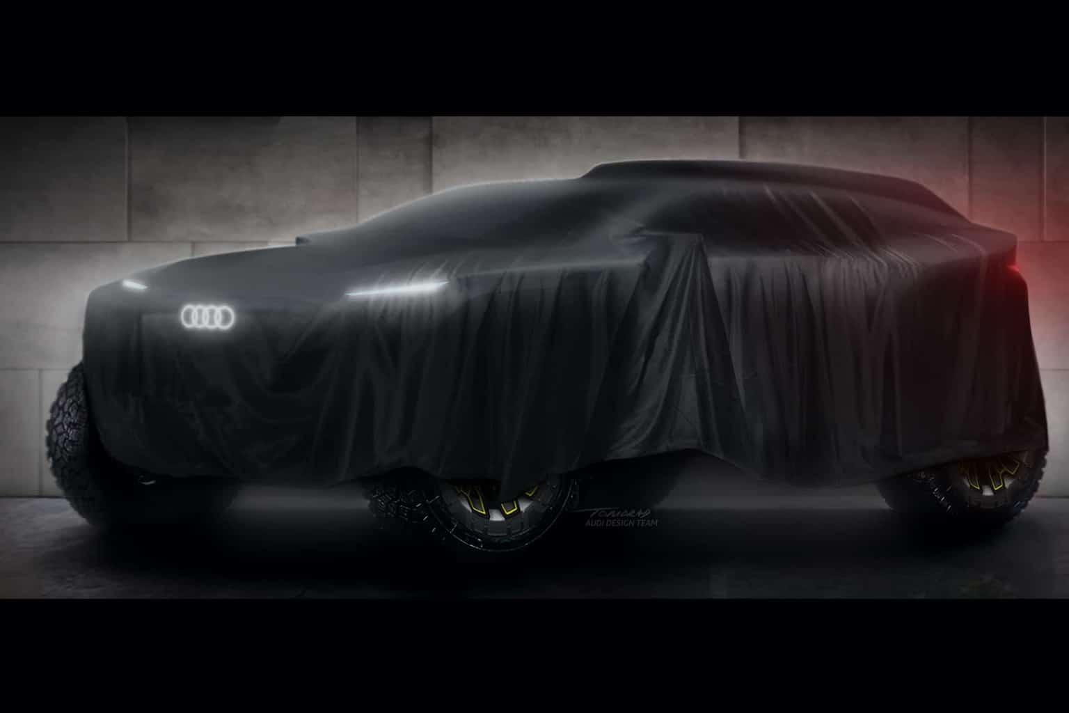 Audi Elektroauto Dakar 2022