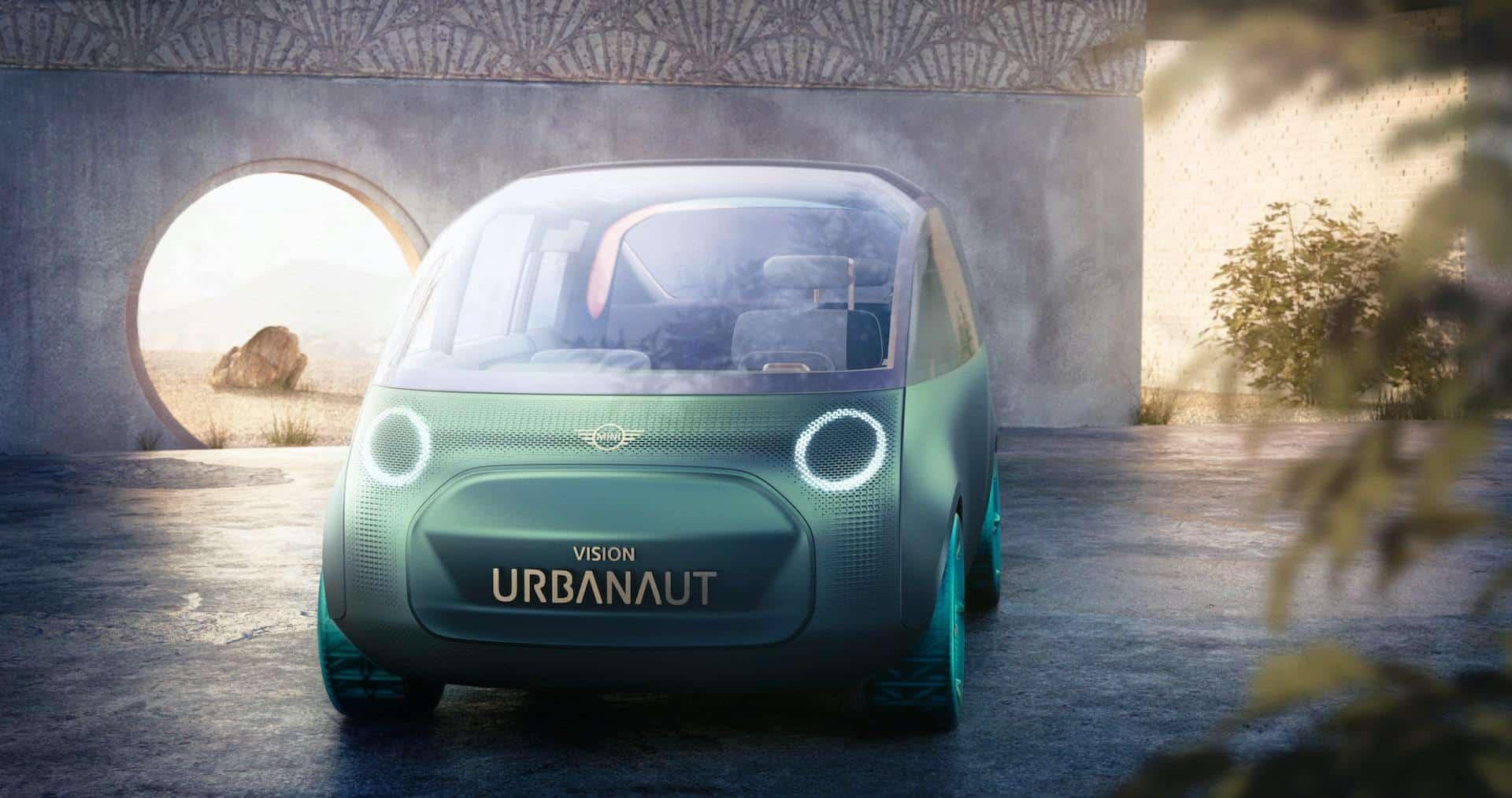 BMW-MINI-Elektroauto-Zukunft-Vision-Urbanaut-Vorne