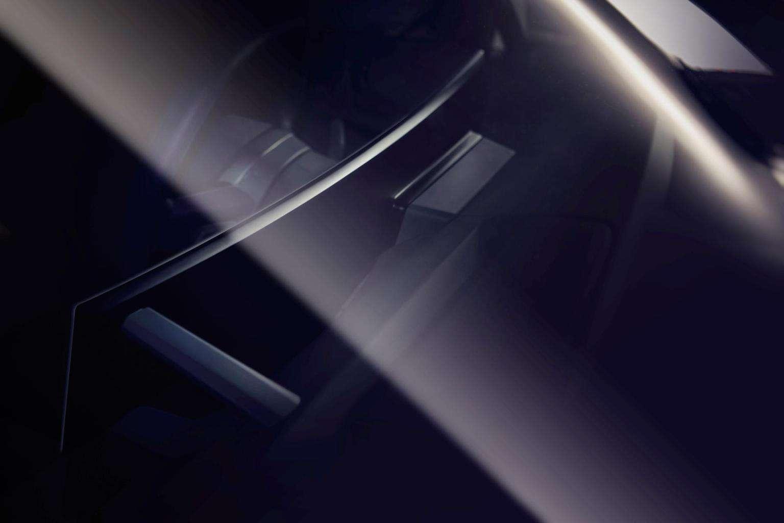 Curved Display des BMW iNEXT