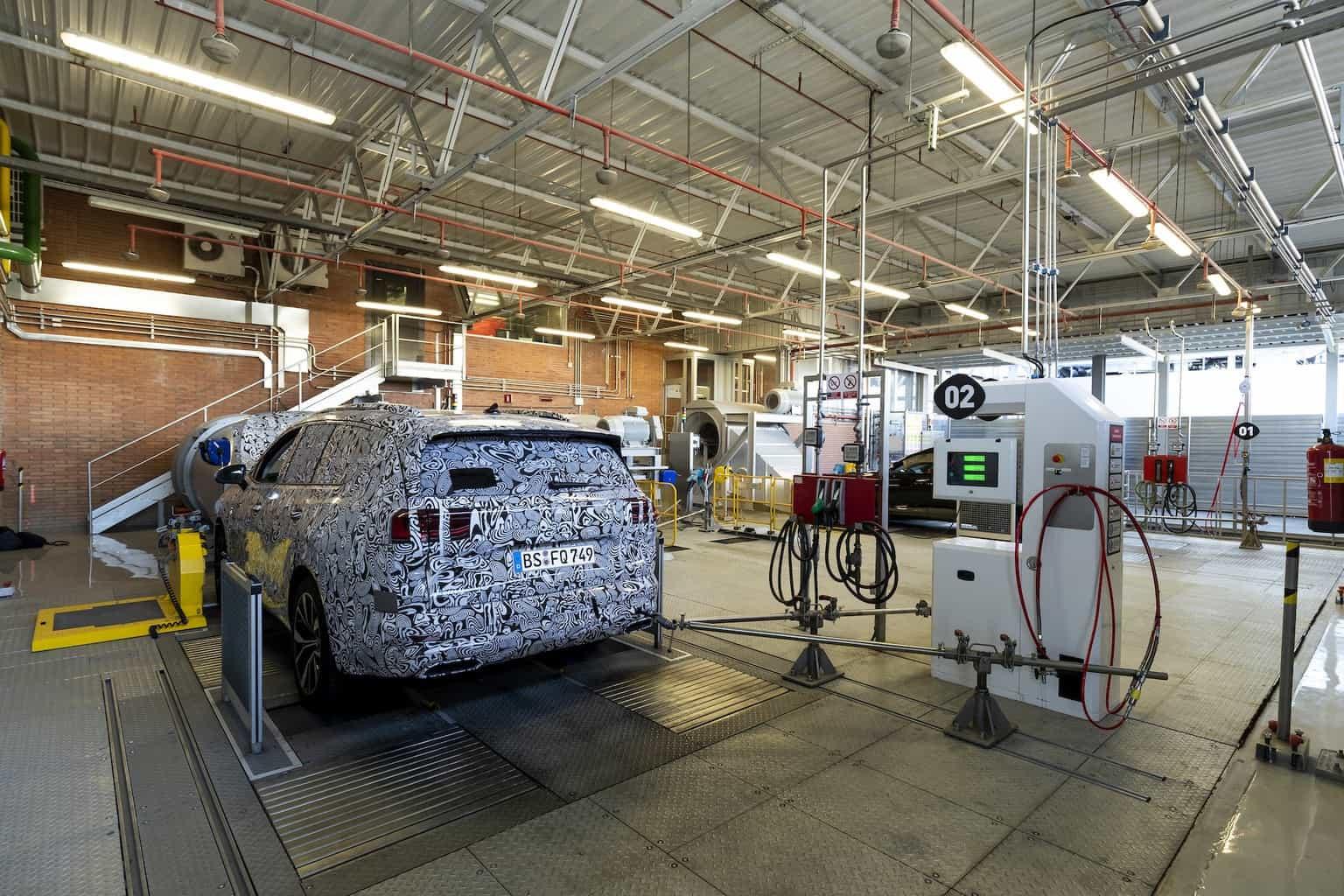 Seat-Motoren-Testzentrum