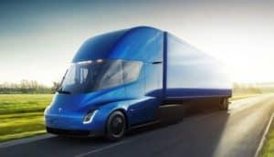 Kanadischer Logistiker will 150 Tesla Semi kaufen; mit Option auf 500 E-LKW