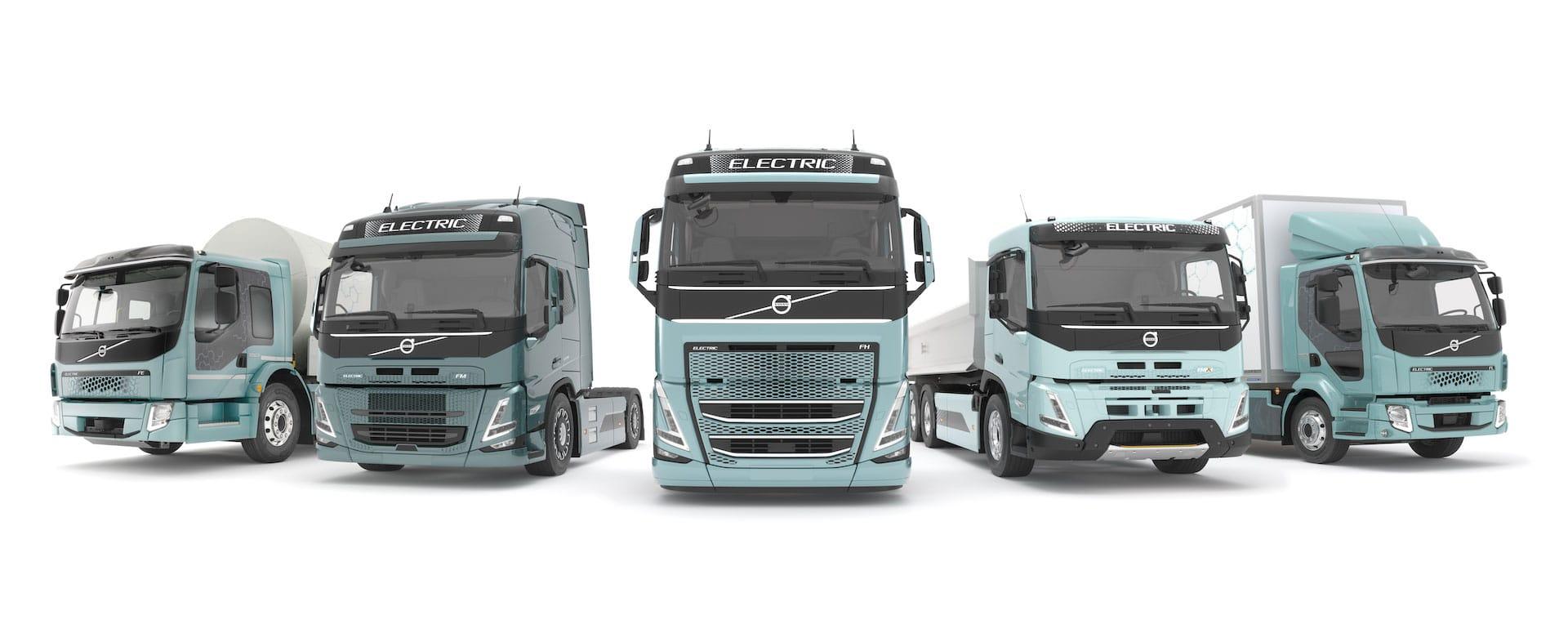 Volvo-Elektro-Lkw-Palette