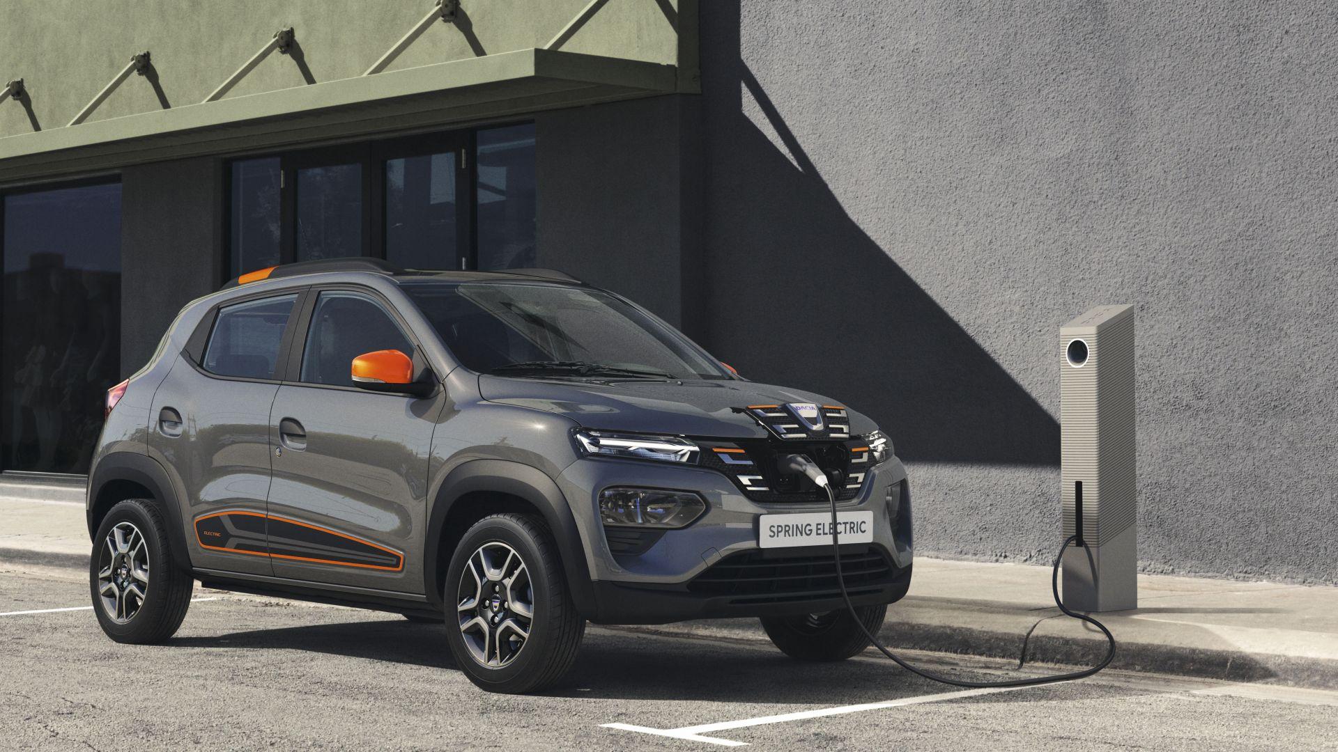 Dacia bringt auf einen Schlag 3.000 Dacia Spring Electric auf die Straße