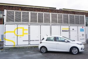 Renault macht aus ehemaligem Kohlekraftwerk ein 3 MWh-Energiespeicher