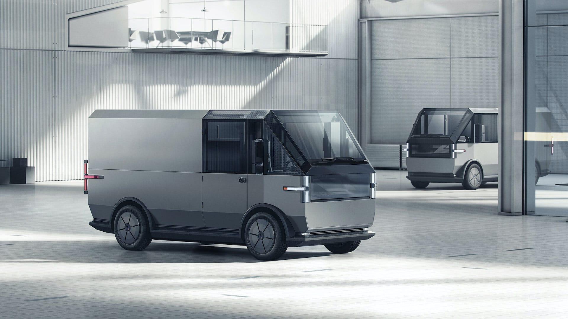 Canoo-Elektro-Lieferwagen