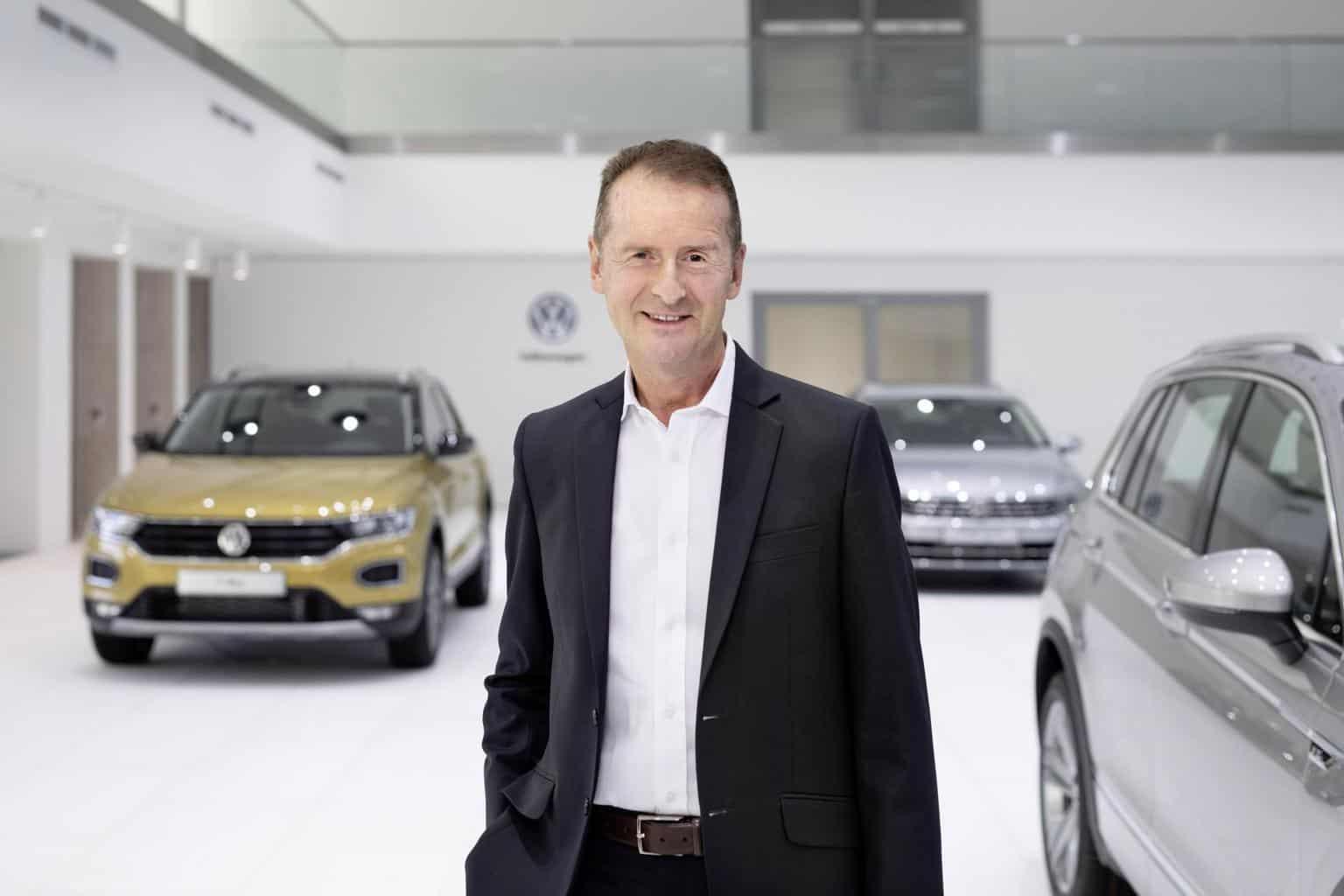 """VW-Chef Diess über Zellproduktion: """"Wir stehen noch ganz am Anfang der Entwicklung"""""""