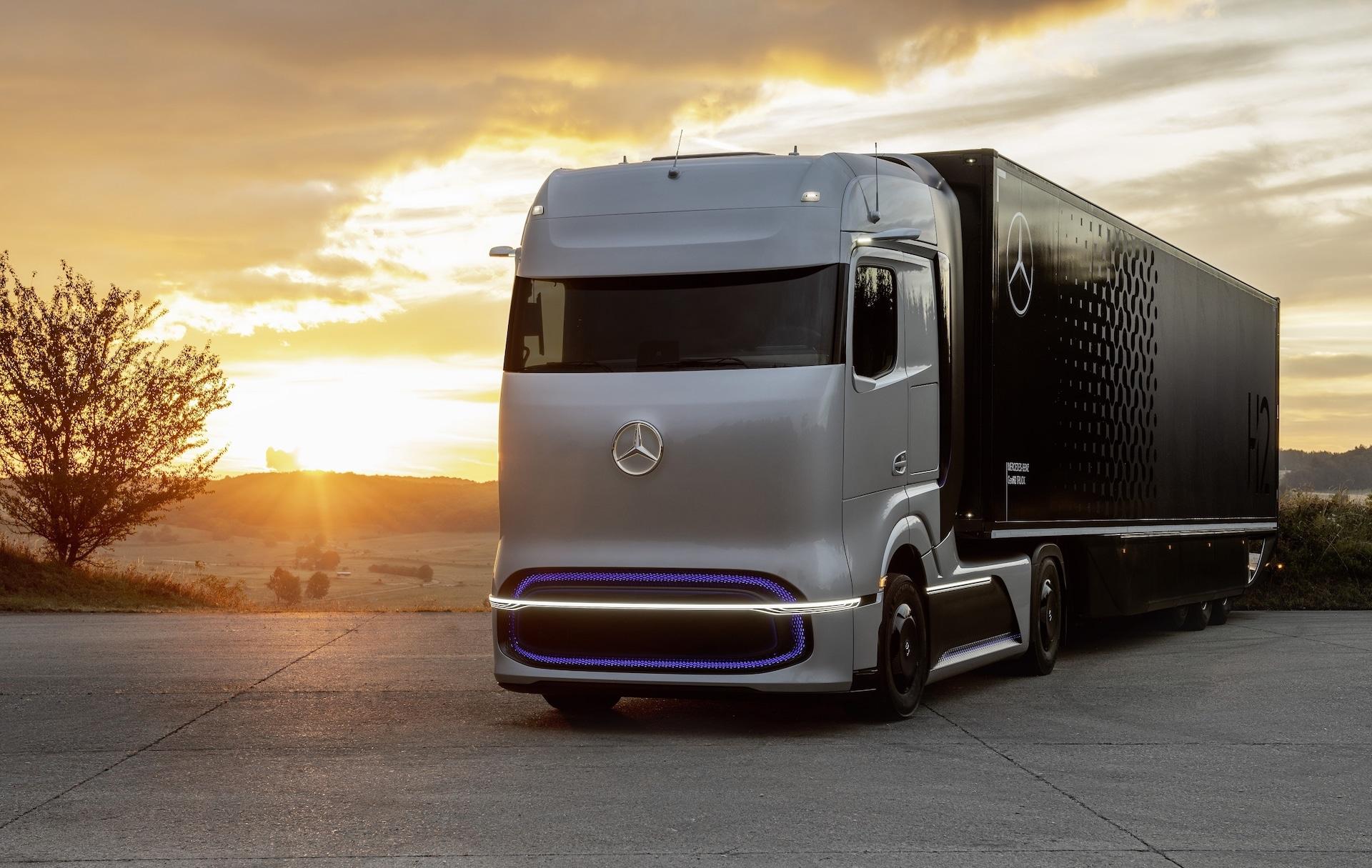 Daimler-Linde-Wasserstoff-Lkw-Tanken