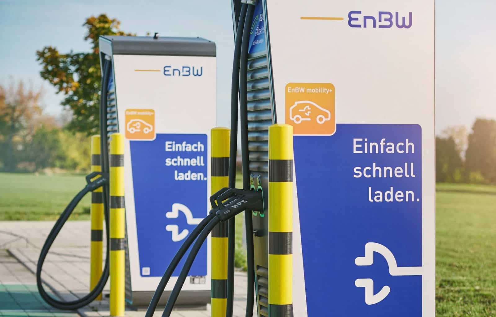EnBW-Elektroauto-Ladeinfrastruktur