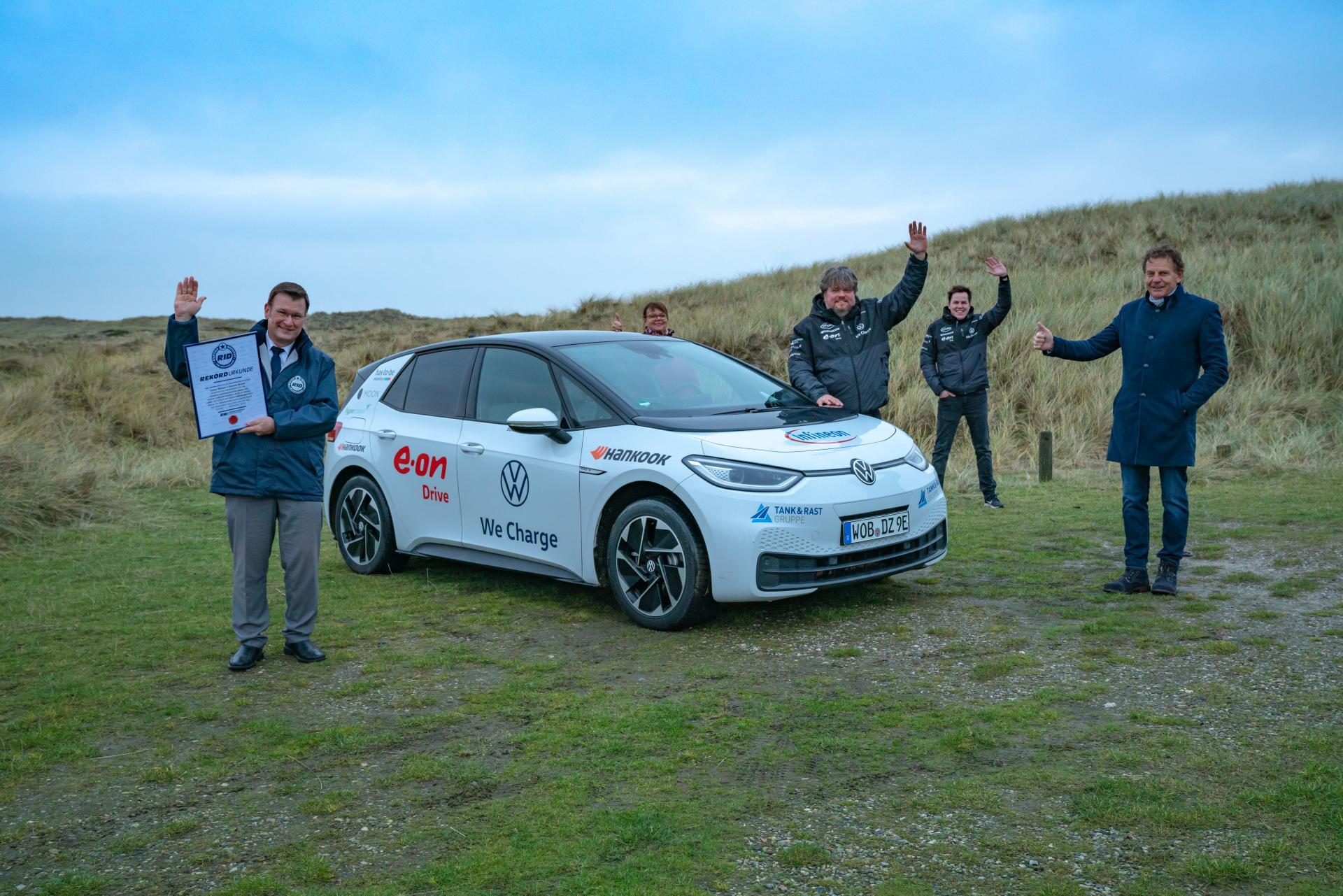 VW ID.3: Ultimativer E-Langstreckentest endet nach 65 Tagen & 28.198 km