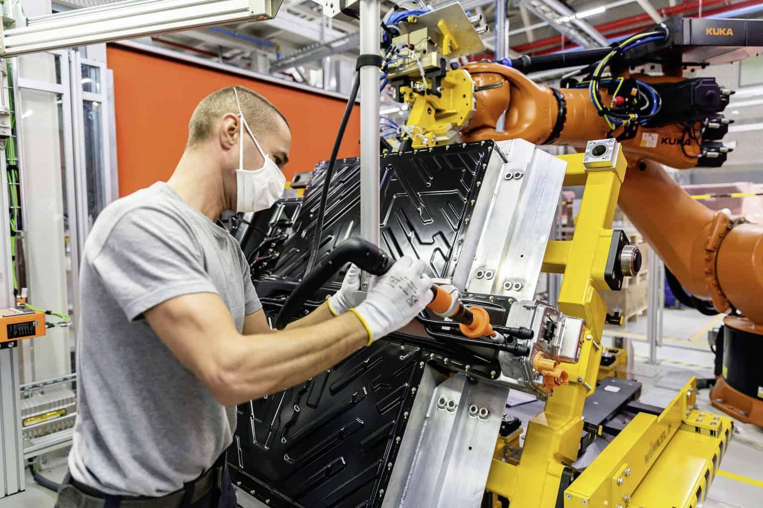Mercedes-Benz-Elektroauto-Akku-Produktion