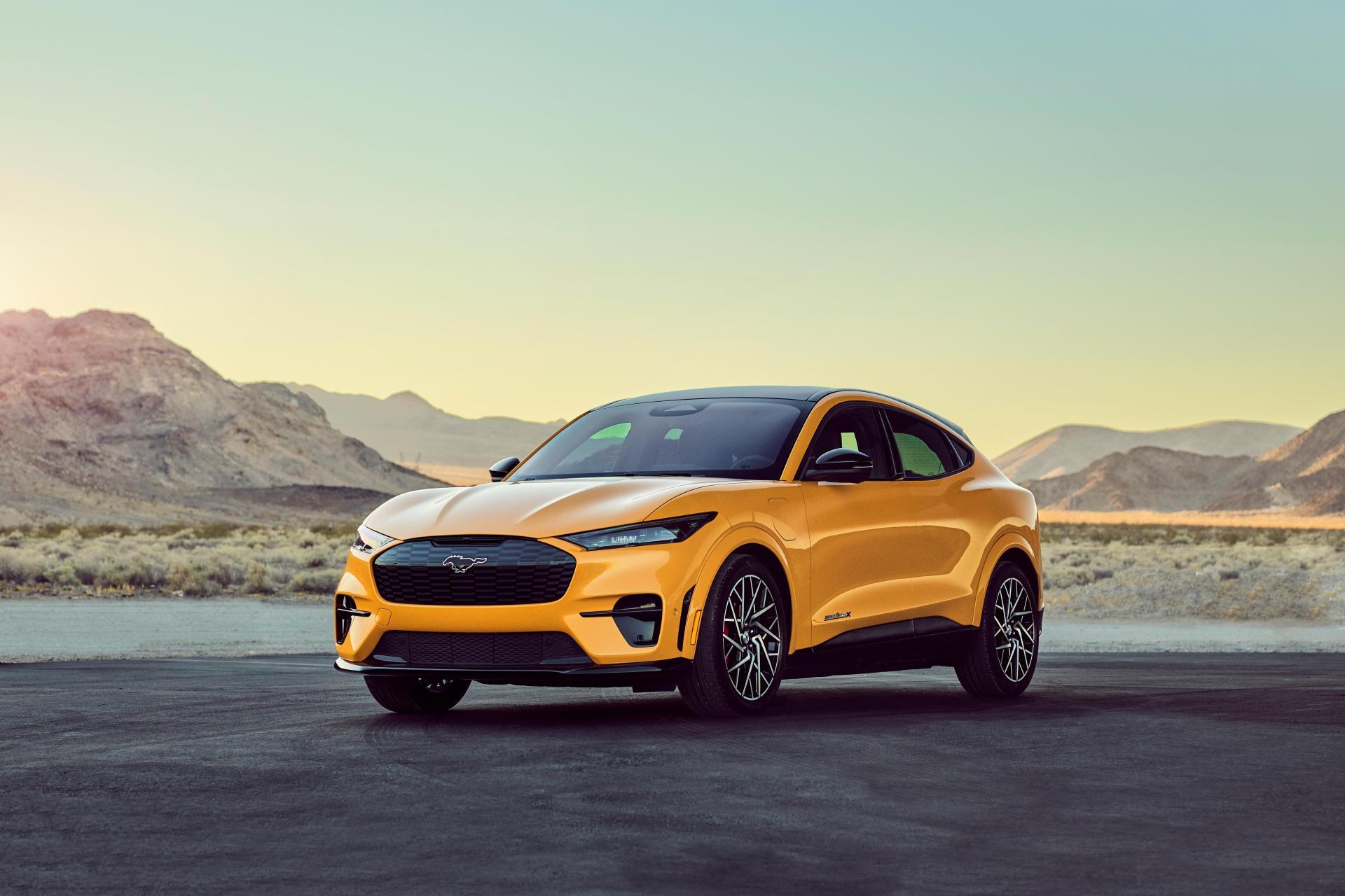 Ford verleiht dem Mustang Mach-E noch mehr Power & Leistung