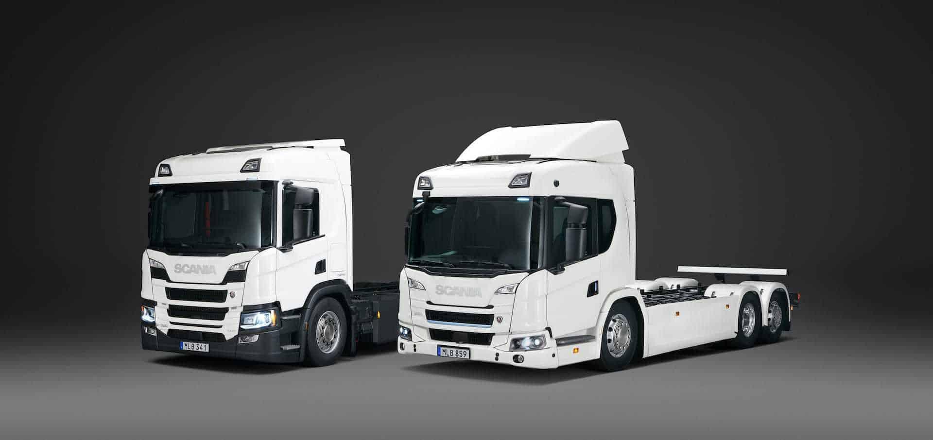 Scania Plug-in-Hybrid Elektro-LKW