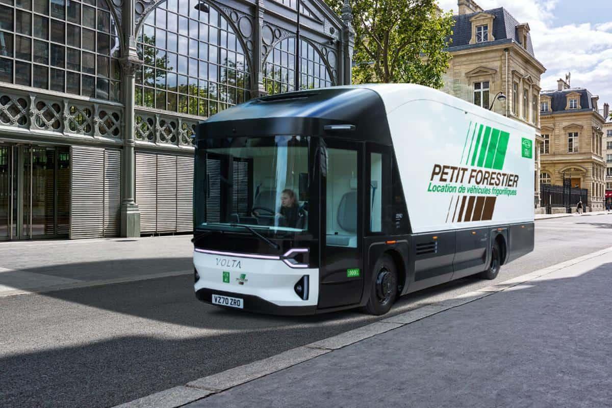 Petit Forestier Gruppe setzt auf Volta Zero für emissionsfreie Kühlfahrzeug-Flotte
