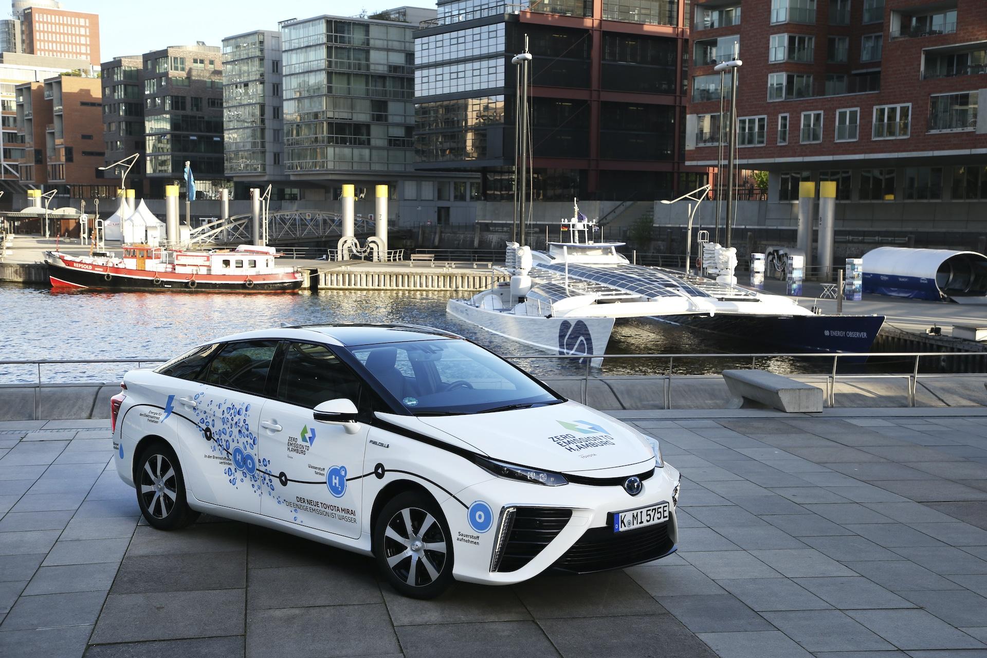 Wasserstoff-Brennstoffzelle-Toyota