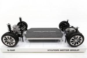 Hyundai Elektro-Plattform E-GMP: >500 km Reichweite; Laden unter 18 Minuten