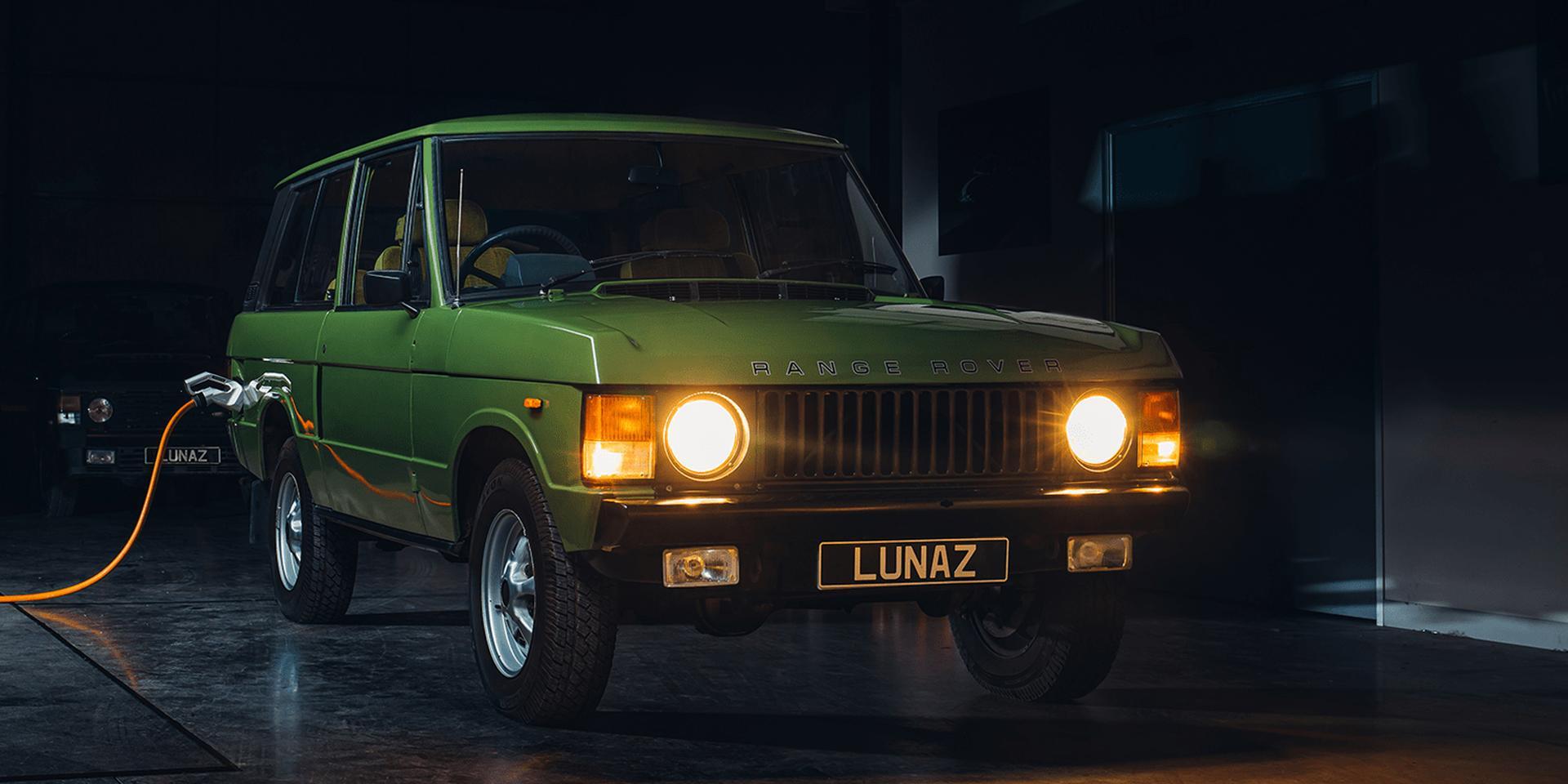 Darfs ein klassischer Range Rover als Elektroauto sein? Lunaz macht's möglich.