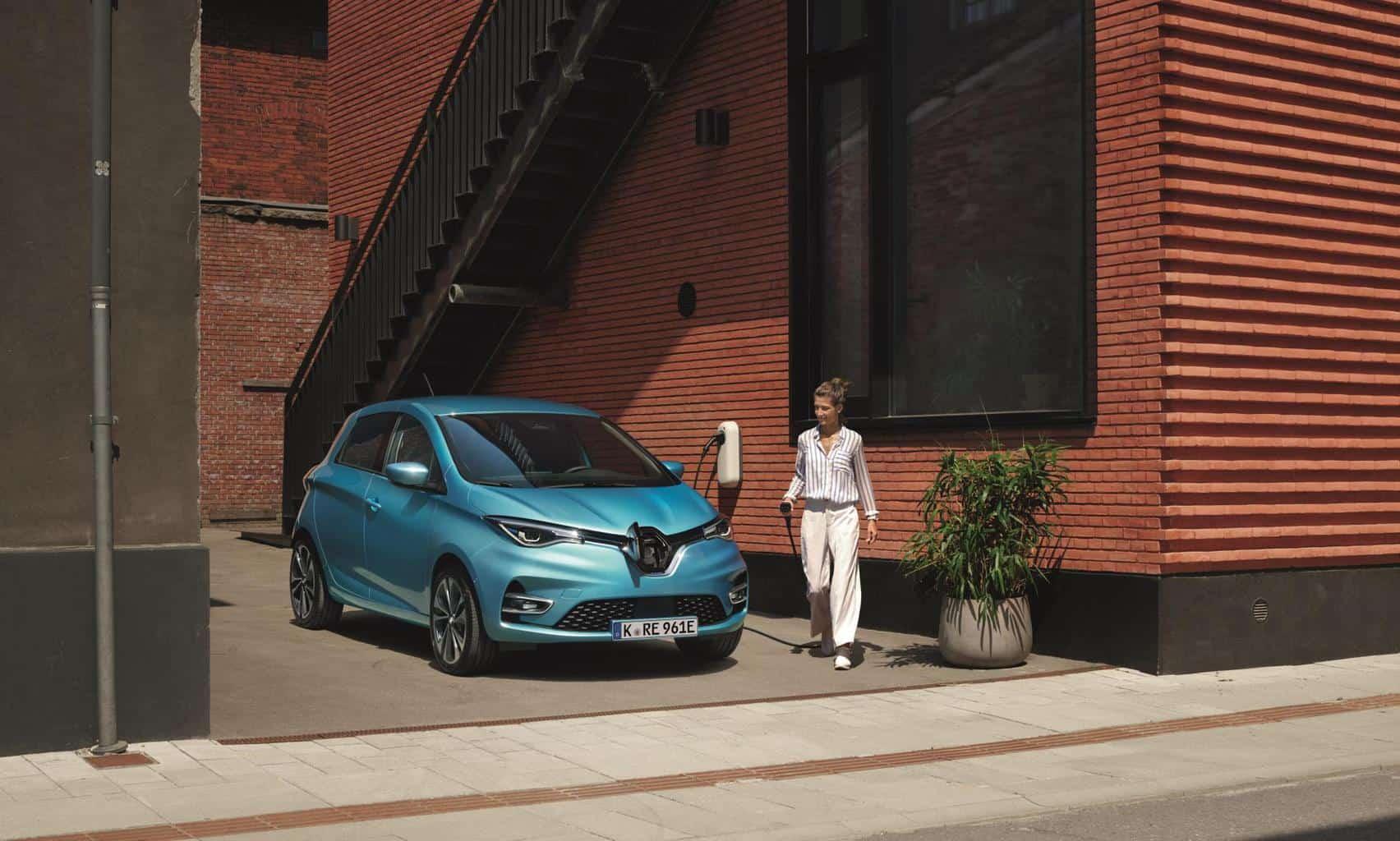 Renault ZOE auch in Deutschlands Dienstwagenflotten ganz vorne dabei!