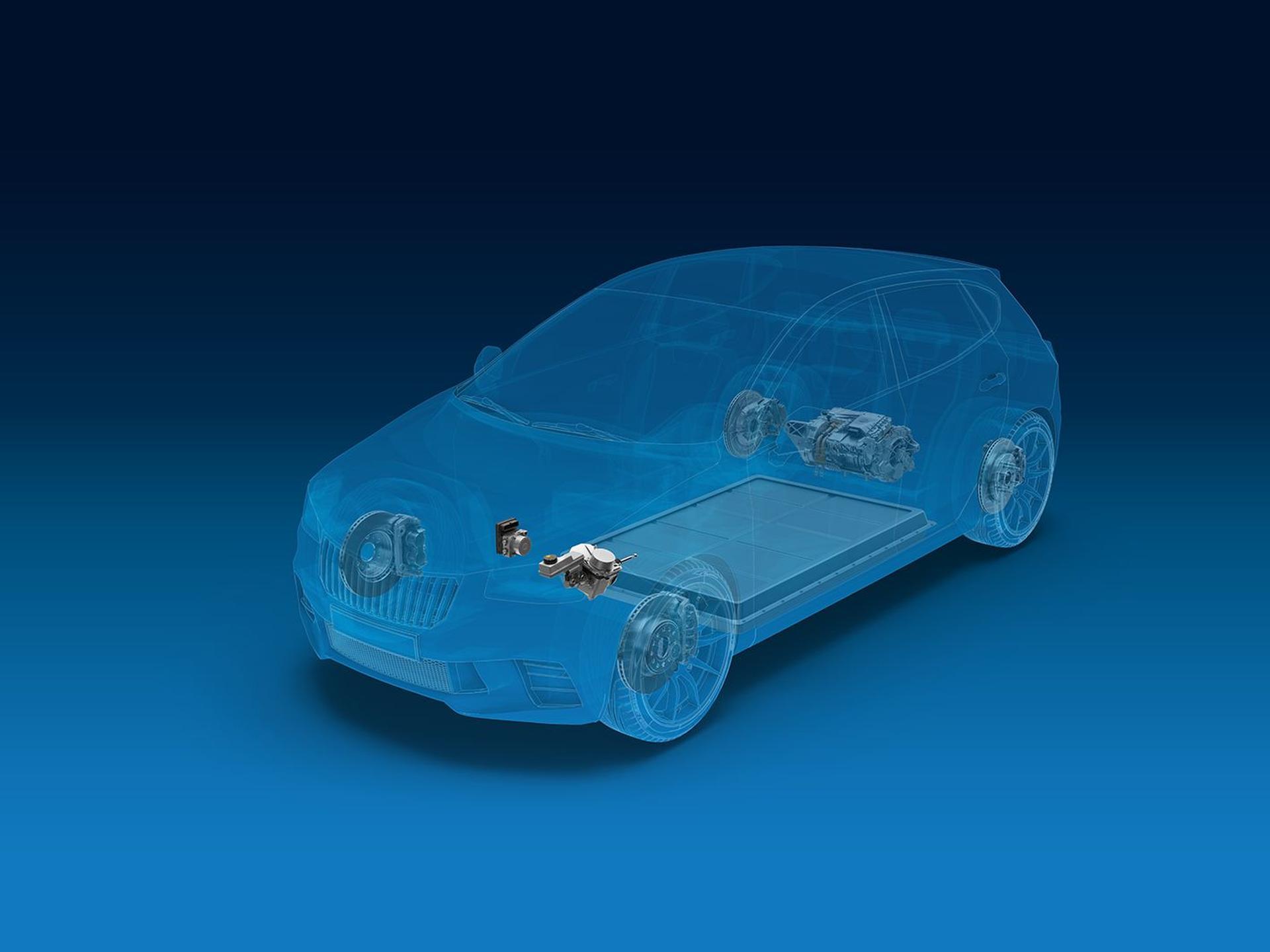ZF: Klügere Bremsen für mehr Reichweite