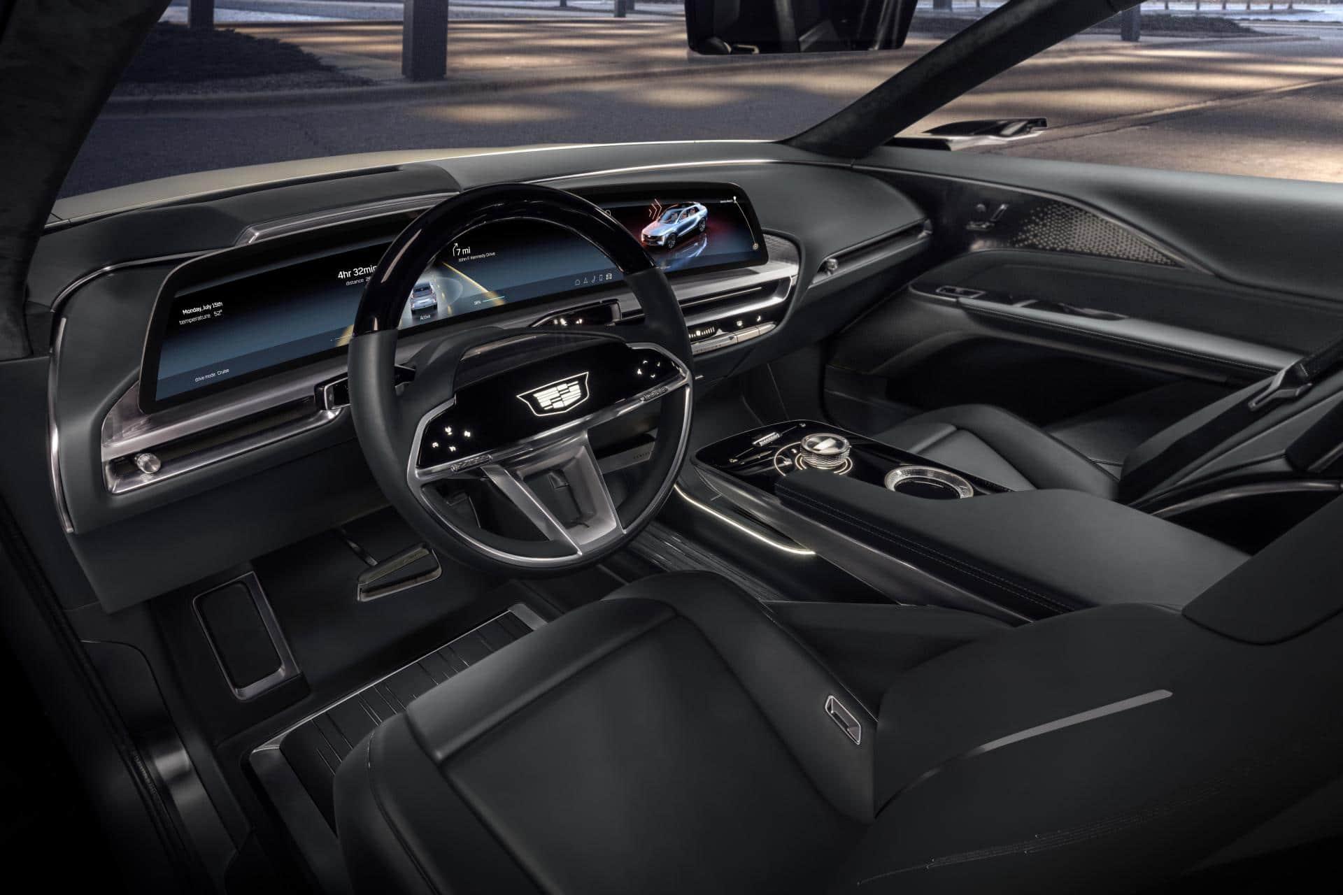 Tesla-Konkurrenz: Cadillac enthüllt Infotainment-System des E-Crossover Lyriq
