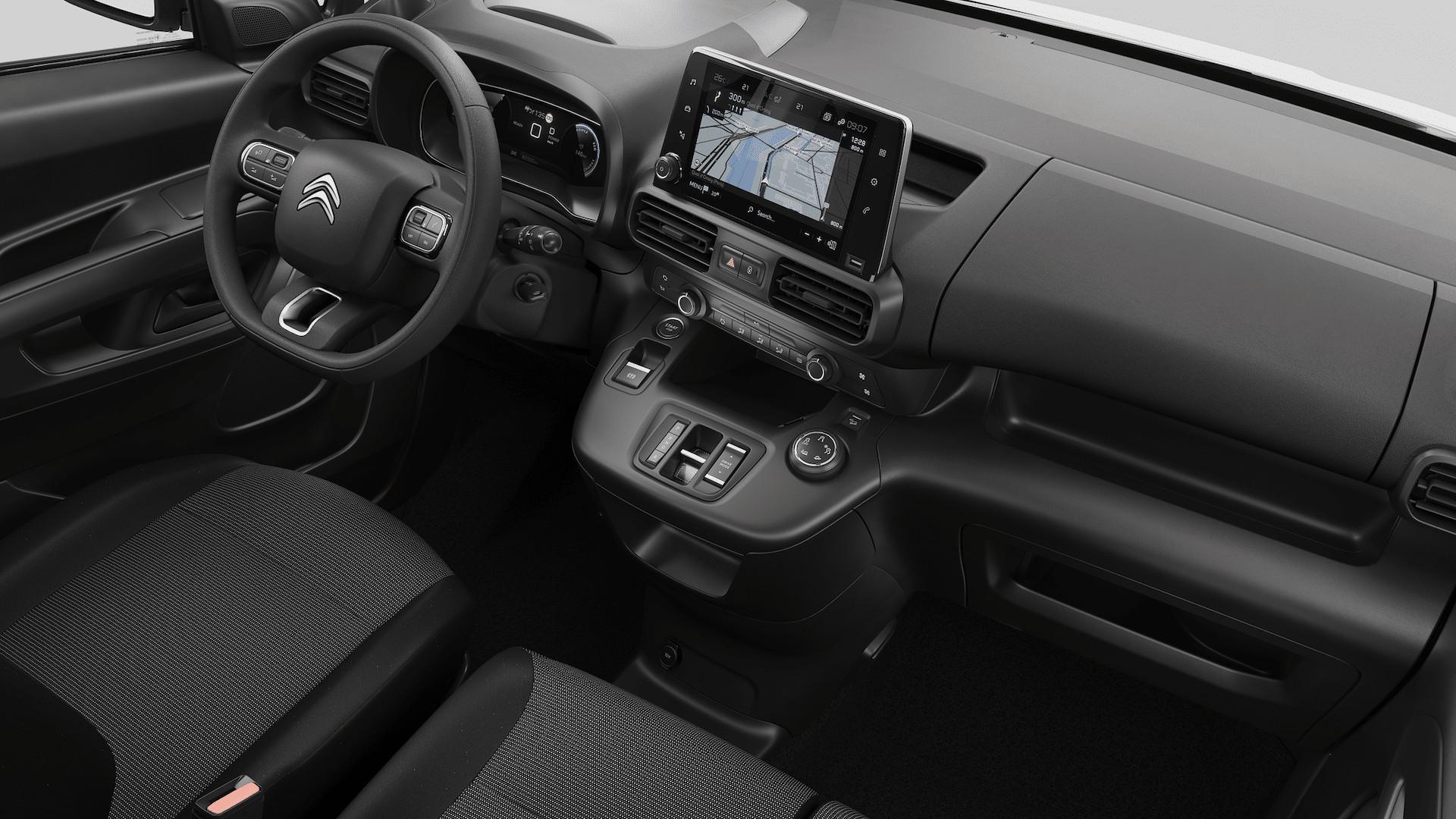 Citroën-ë-Berlingo-Elektro-Kastenwagen-Cockpit