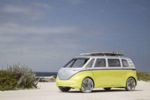VW ID. BUZZ ab 2023 mit Solardach in den USA