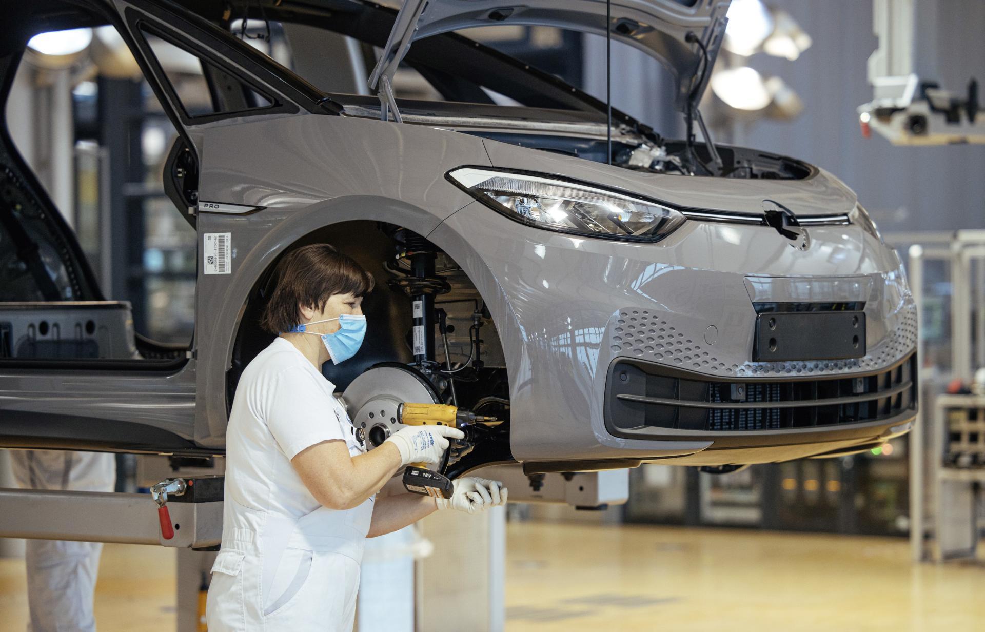 VW startet ID.3-Produktion in Dresden