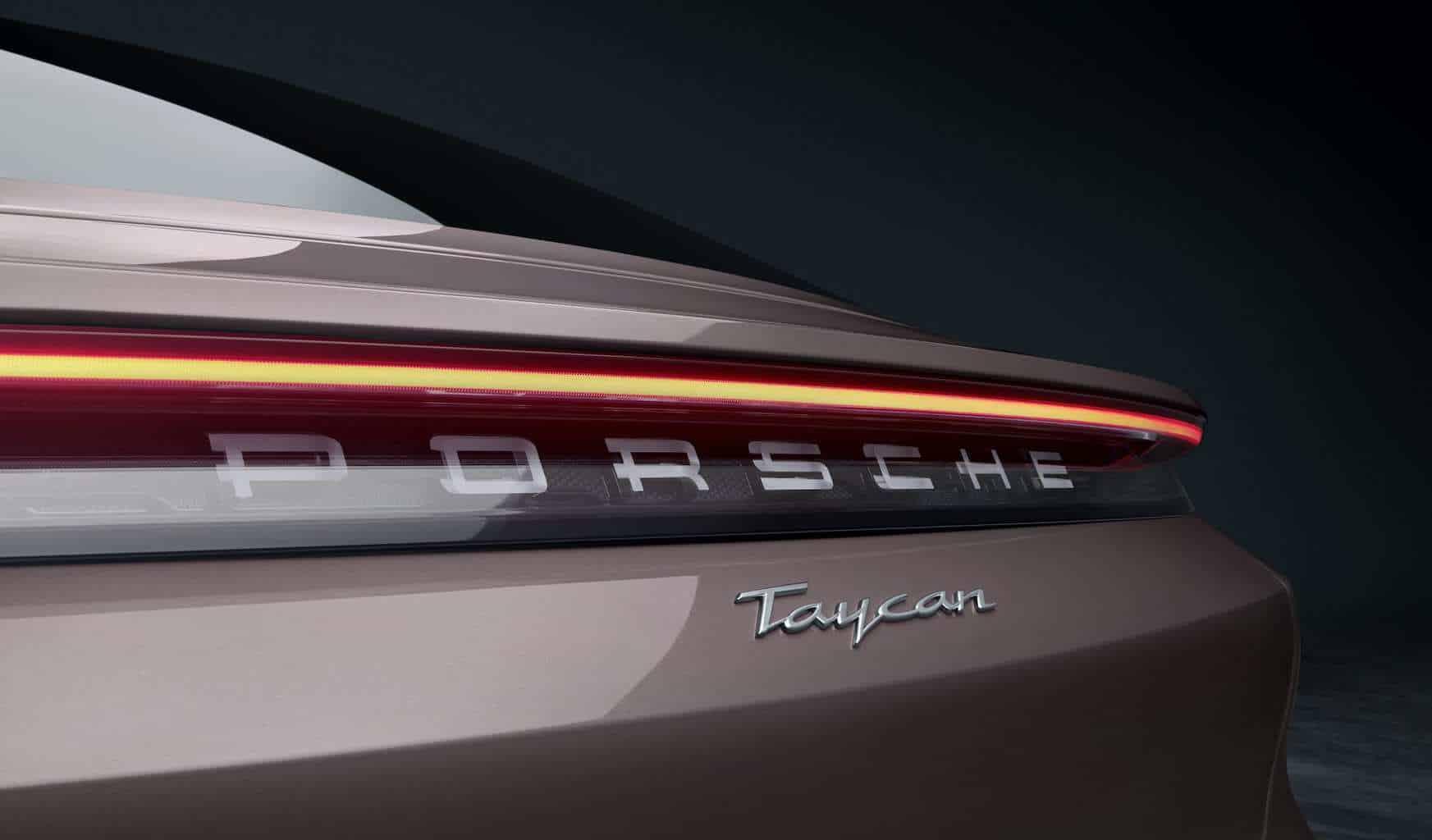 Porsche-Taycan-Elektroauto-Einstiegsvariante-Heck