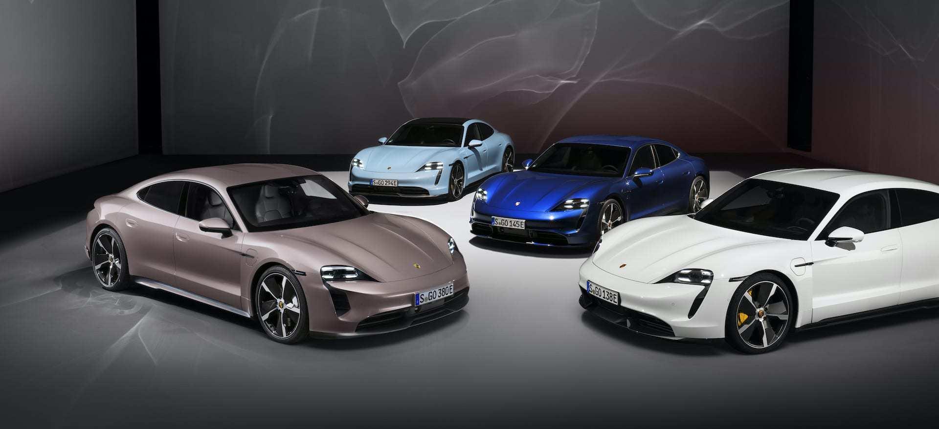 Porsche-Taycan-Modelle