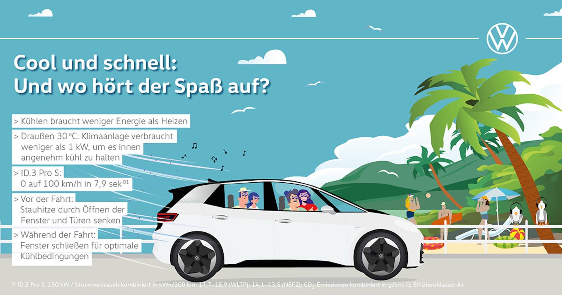 Volkswagen-Elektroauto-Reichweite-Sommer