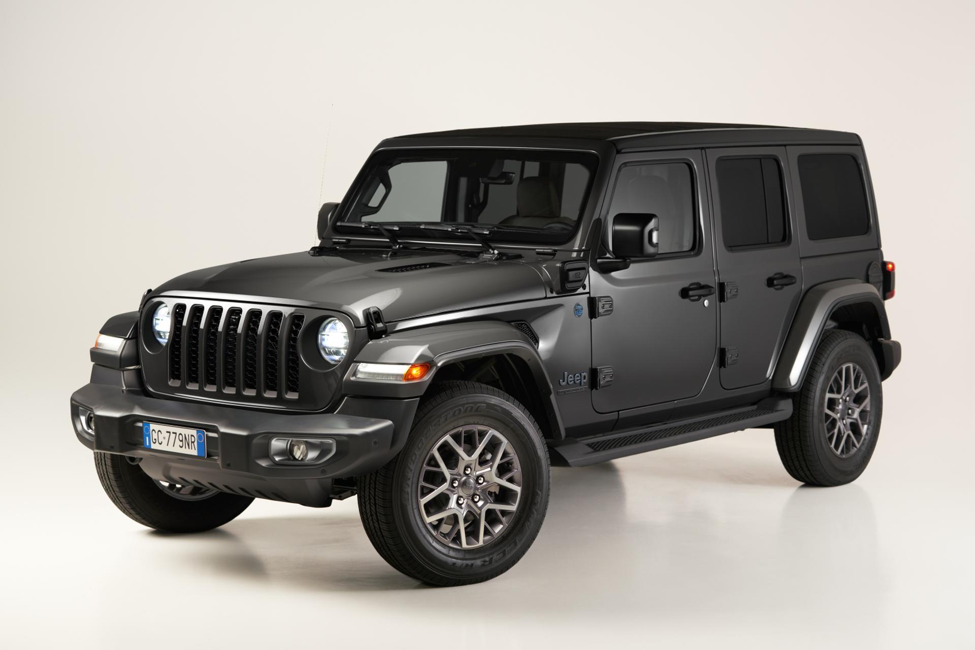 Vollelektrischer Jeep Wrangler - Studie wird Ende März erwartet