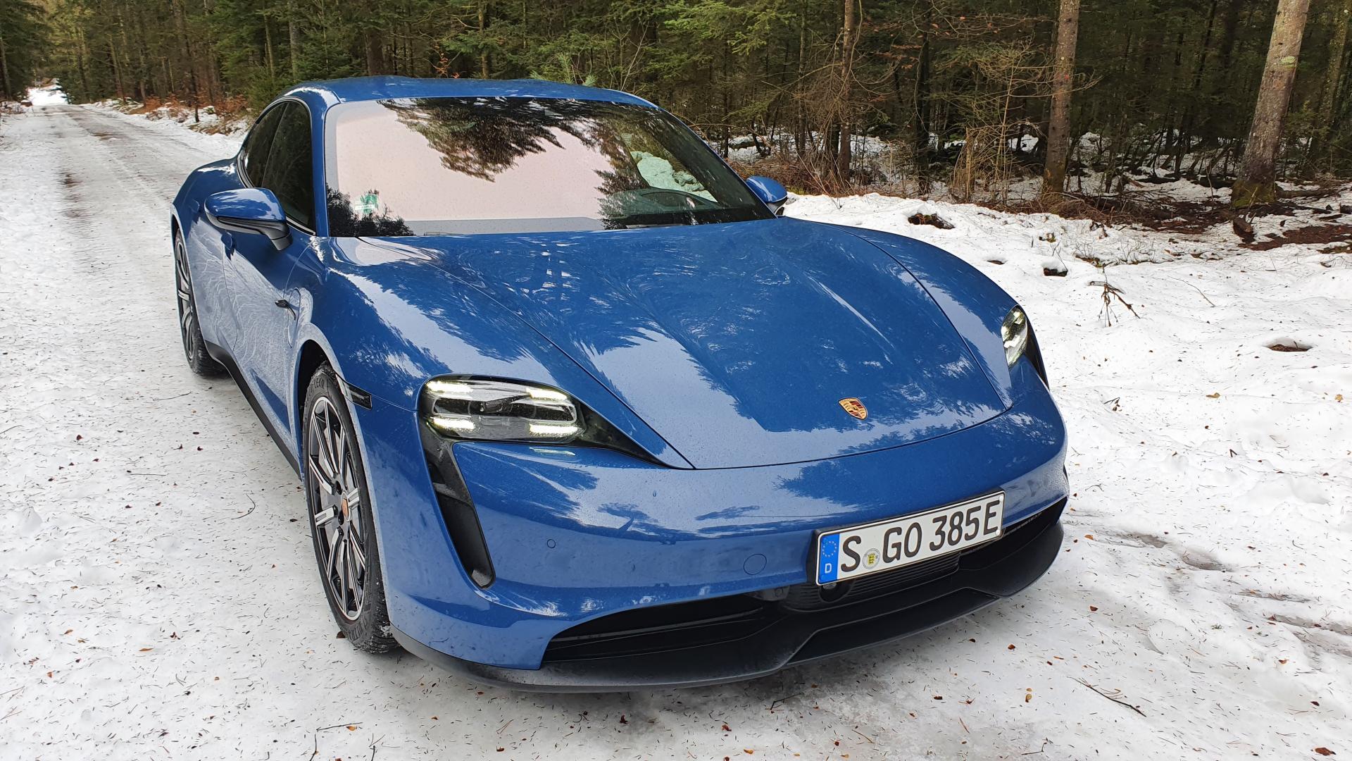 Porsche Taycan mit Heckantrieb: E-Power für Puristen
