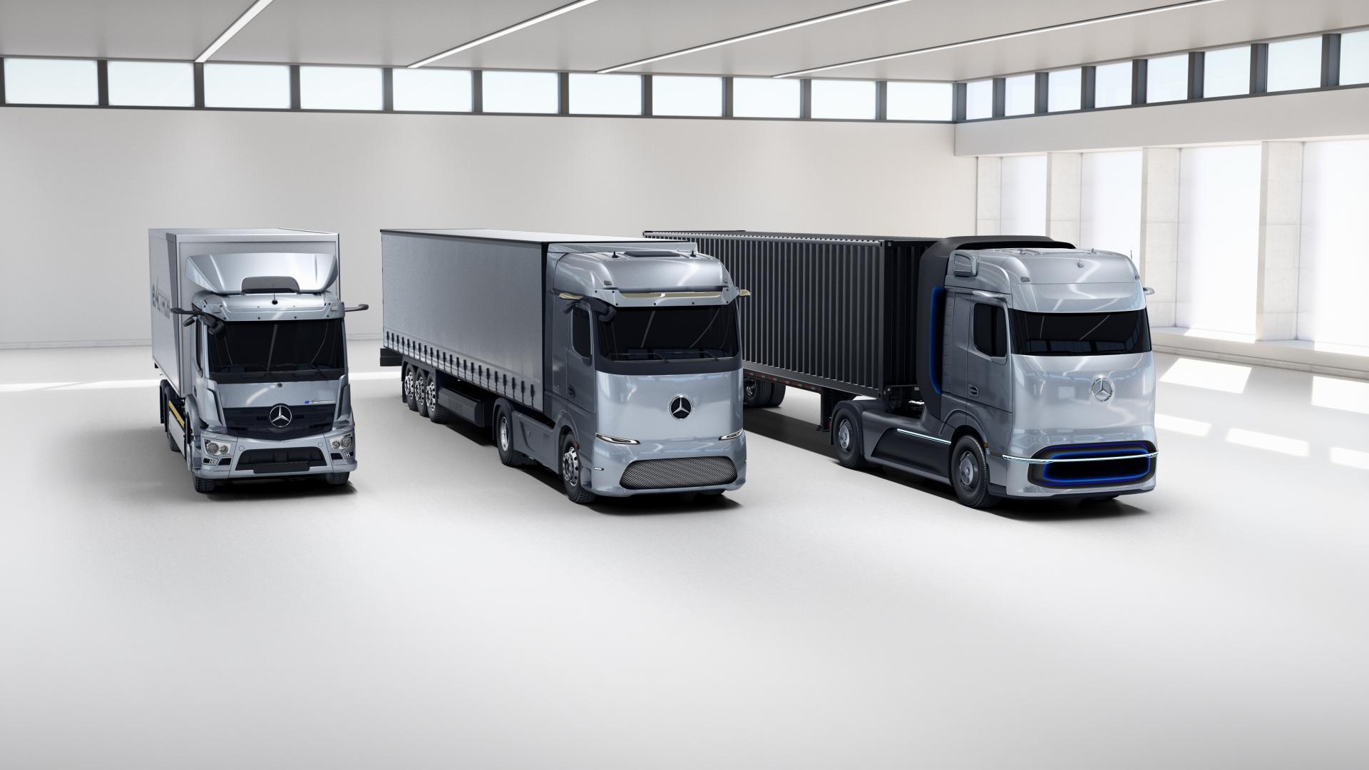 Daimler will Lkw-Sparte an die Börse bringen - Alternative Antriebe im Fokus