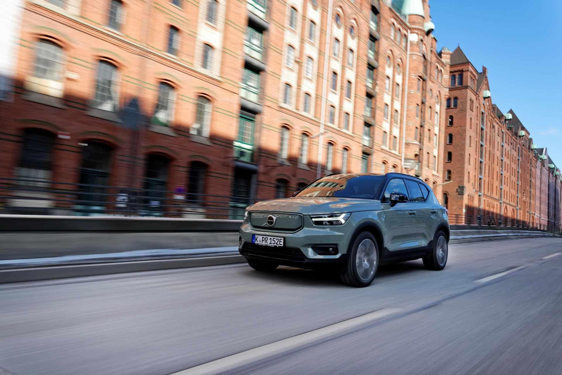"""Volvo: """"Klima-Vorteil eindeutig beim E-Auto"""""""