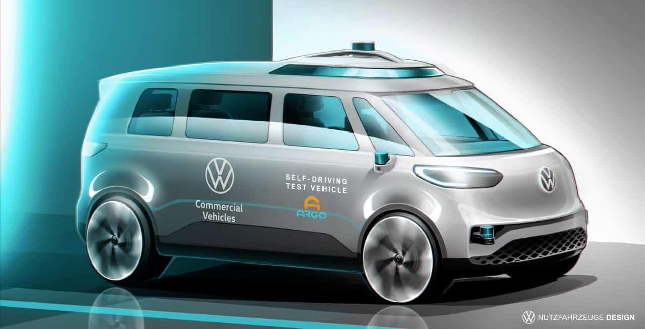 VW ID. BUZZ: Erster vollelektrischer, autonomer Stromer des VW Konzerns