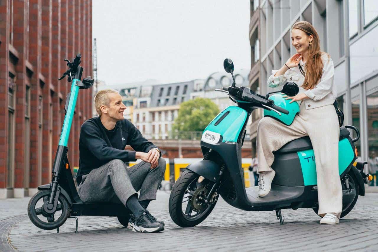 TIER E-Scooter setzen künftig auf Northvolts nachhaltige Batterien