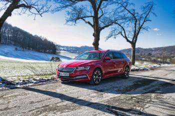Test- und Fahrbericht des Škoda SUPERB COMBI iV Style 1.4 TSI PHEV