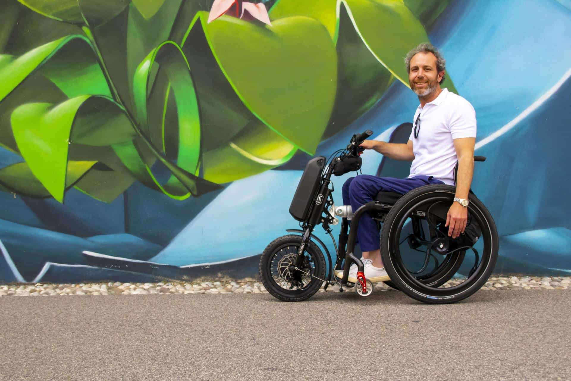 E-Scooterverleiher Voi testet Sharingfahrzeuge für Rollstuhlfahrer