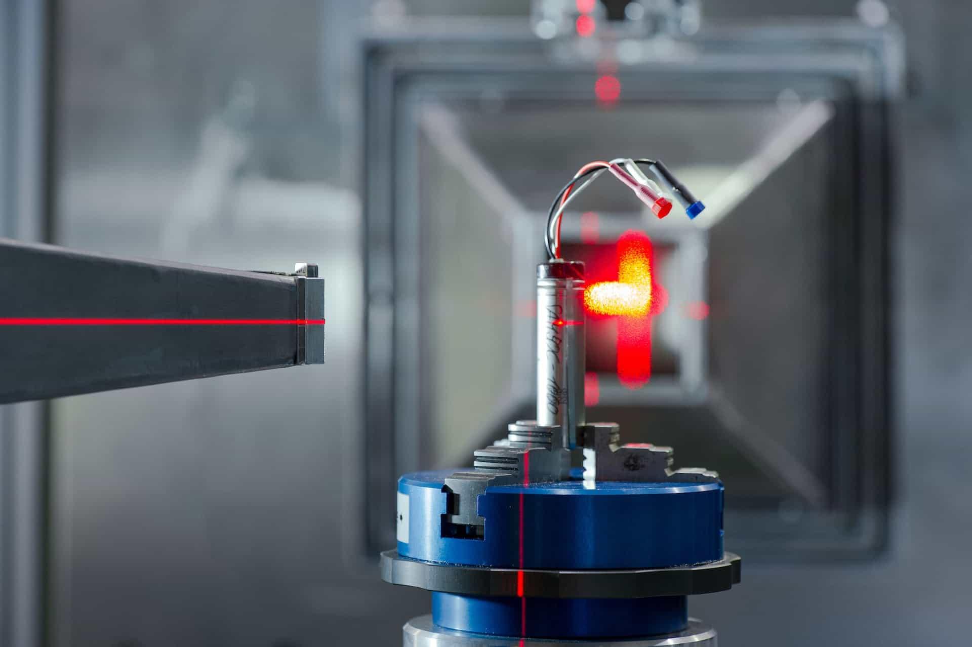 Lithium-Ionen-Batterie-Forschung