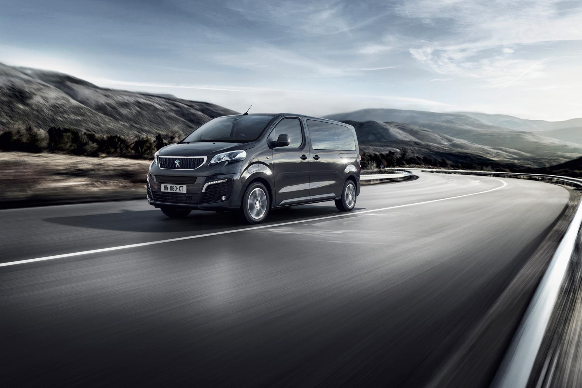 Peugeot-Kleinbusse auch mit 75-kWh-Batterie