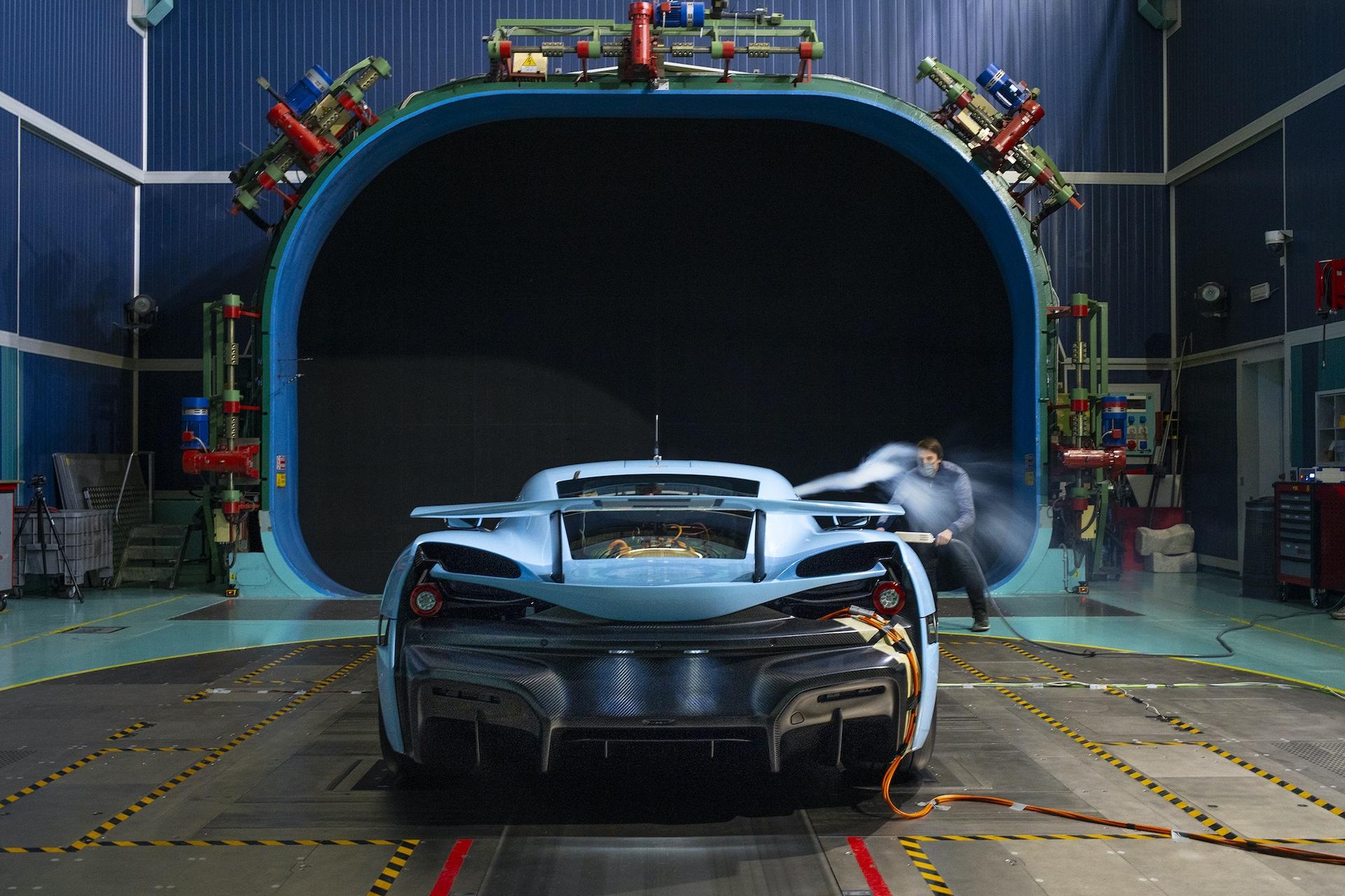 Rimac CTwo Aerodynamic Test