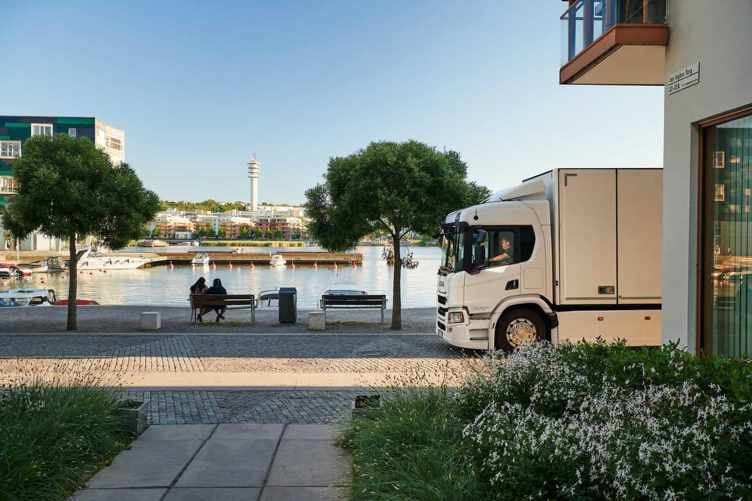 Scania-Elektro-Lkw